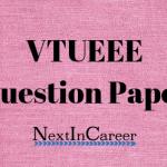 VTUEEE Question Paper