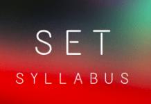 SET Syllabus