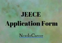 JEECE Application Form