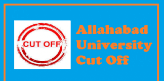 Allahabad University Cut Off