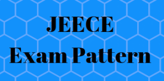 JEECE Exam Pattern