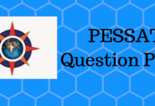 PESSAT Question Paper