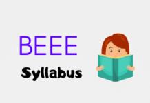 BEEE Syllabus