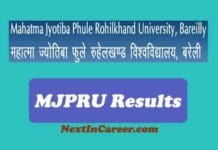 MJPRU Improvement Result