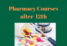 Pharmacy Courses after 12th