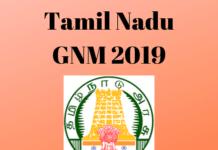 Tamil Nadu GNM 2019
