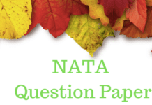 NATA Question Paper