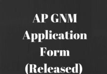 AP GNM Application Form