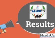 TALLENTEX Result