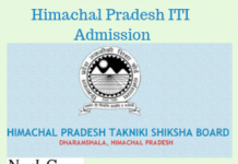 Himachal Pradesh ITI Admission