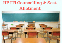 HP ITI Counselling Seat Allotment