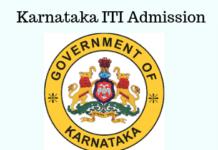 Karnataka ITI Admission