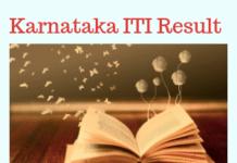 Karnataka ITI Result