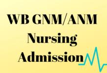 WB GNM_ANM Nursing Admission