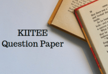 KIITEE Question Paper