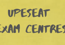 UPESEAT Exam Centres
