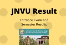 JNVU Results