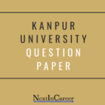 Kanpur University Question Paper