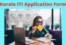 Kerala ITI Application Form