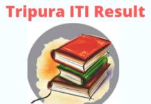 Tripura ITI Result
