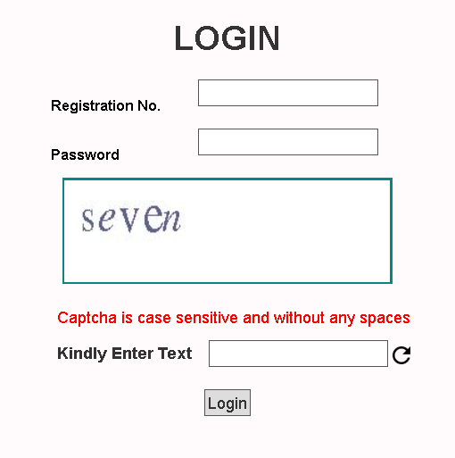 JNVST 6th Class Admit Card Login Section