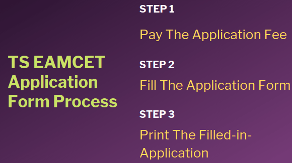 TS EAMCET Application Process