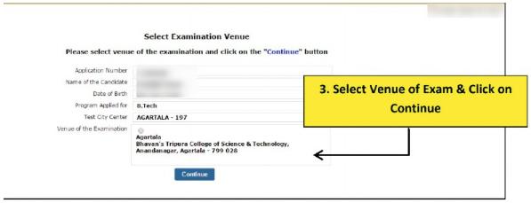 SRM Exam Venue