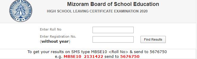 Mizoram Board Result