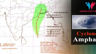 Photo of Depression Over Bay Of Bengal To Intensify Into Cyclone By Today Evening: IMD