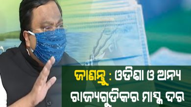 Photo of Know Prices Of Masks In Odisha, Other States
