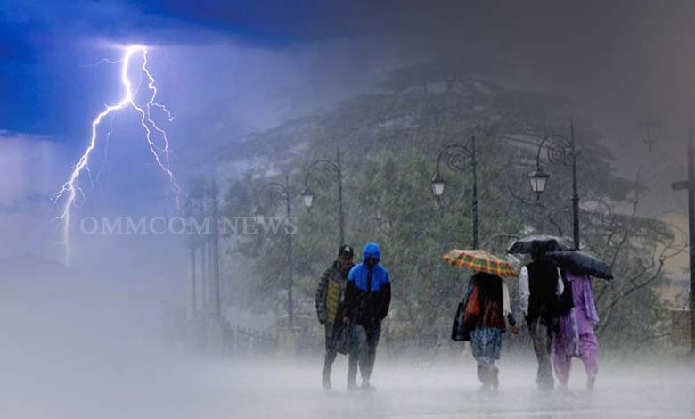 Thunderstorm, Moderate Rainfall Warning For 19 Districts Across Odisha