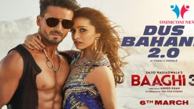 Photo of Baaghi 3 Latest Song Dus Bahane 2.0 Releasing on 6th March