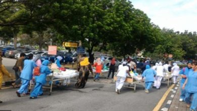 Photo of Malaysia Hospital Fire Kills Six