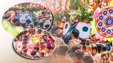 Photo of Bahuda Yatra: Pahandi Of Holy Trinity In Pictures