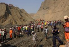 Photo of 50 Killed In Myanmar Jade Mine Landslide