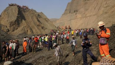 Photo of Myanmar Jade Mine Landslide Kills 113