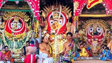 Photo of Puri Rath Yatra: Deities Glitter In Gold On Suna Besha