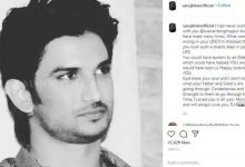 Photo of Saroj Khan's Last Instagram Post Was In Memory Of Sushant Singh Rajput