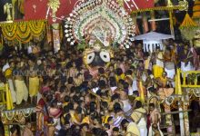 Photo of Niladri Bije: Lord Jagannath, Siblings Ushered Into Srimandir
