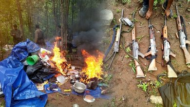 Photo of 4 Maoists Killed In Exchange Of Fire In Odisha's Kandhamal
