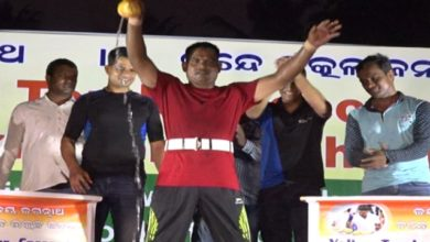 Photo of Keshab Swain Breaks Another Record By Busting Coconut