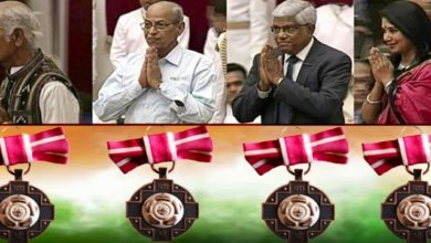 Photo of 4 Odisha Personalities Receive Prestigious Padma Award From President At Rashtrapati Bhavan