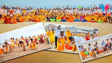 Photo of Odisha's Largest Beach Clean-Up Drive In Puri