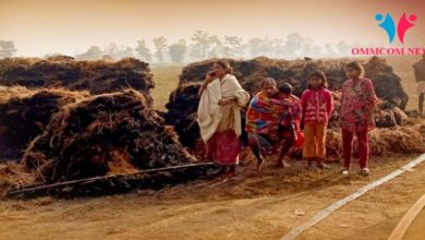 Photo of Massive Fire Reduces 200 Quintal Of Paddy To Cinders In Odisha's Bolangir