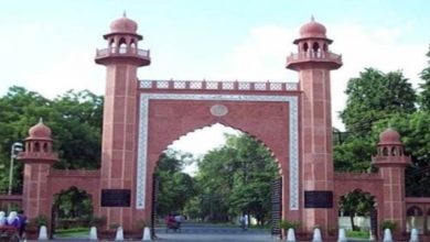 Photo of AMU Acts Against 9 Students Over Kashmir Killing