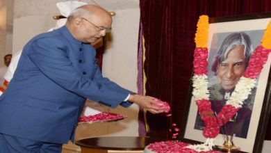 Photo of President, PM Pay Tributes To Kalam