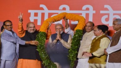Photo of Resounding Modi Wave As BJP Secures 303