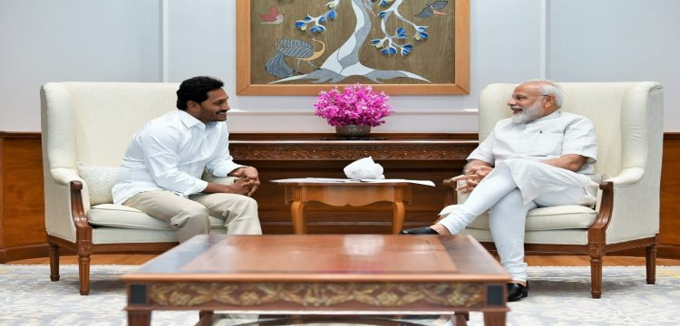 Jagan Reddy Invites Modi For Swearing-In Ceremony, Discusses Andhra's  Special Category Status