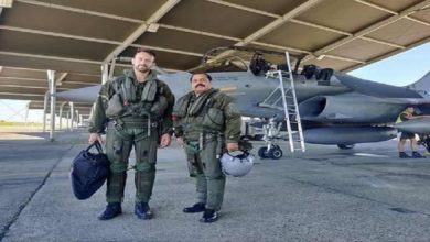Photo of IAF Vice Chief Flies In Rafale During Indo-French Drill