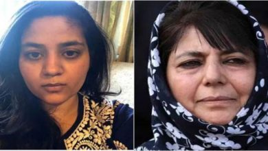 Photo of SC Allows Mehbooba Mufti's Daughter To Meet Her